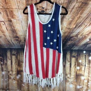 American Knit Pullover Tank